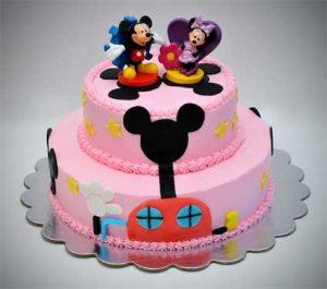 Торт Микки и Минни