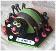 торт паучок