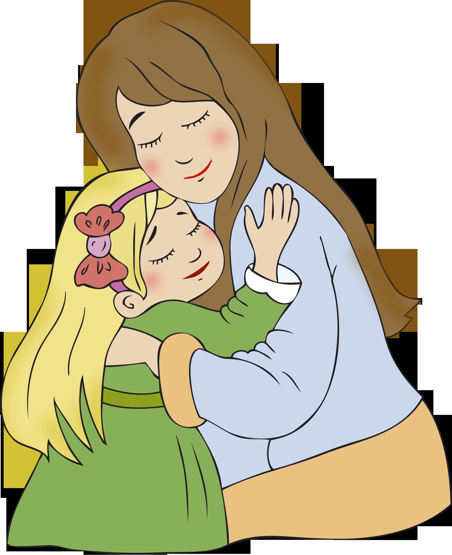 Картинки мама и ребенок рисунки
