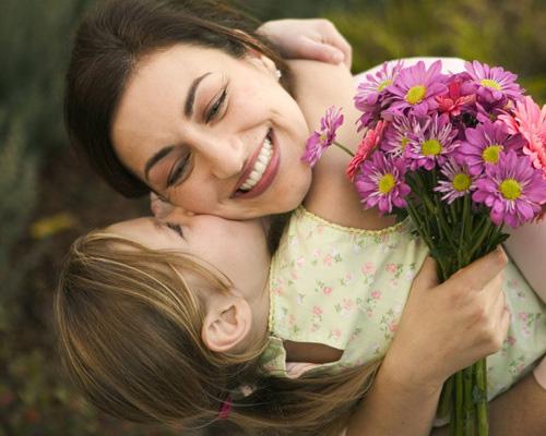 мама и девочка