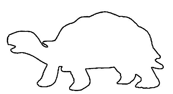 Трафарет рисунок тигра