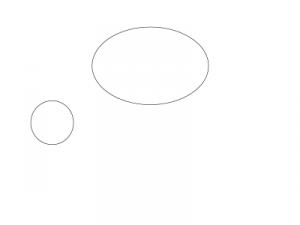 овал и круг
