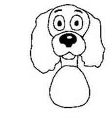 собака с туловищем