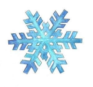 готавая снежинка