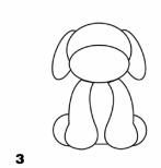 собачка с лапами