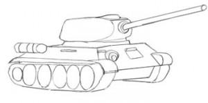 танк с башней