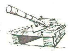 готовый танк КВ1