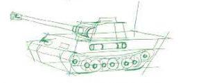 танк кв1с с деталями