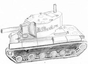 модель танка КВ2