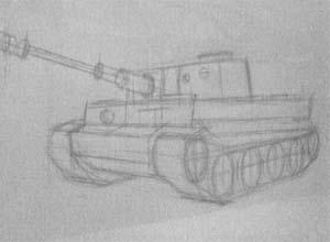 детали танка тигр
