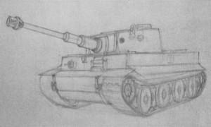 танк с колесами