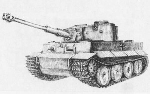 готовый танк тигр