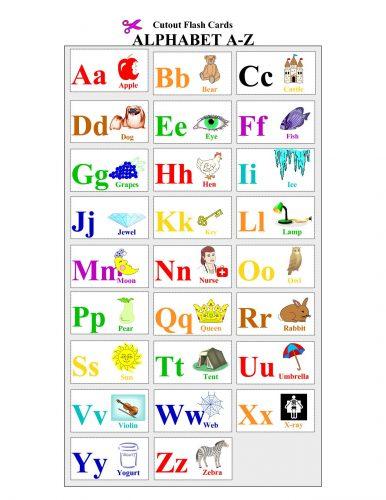 английский алфавит для малышей
