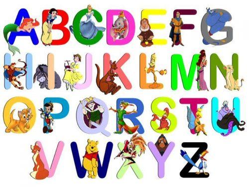 английские буквы картинки и фото