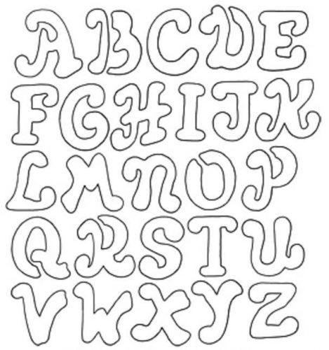английский алфавит раскраска для детей