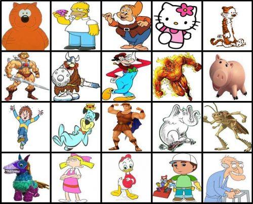 картинки животных из мультфильмов