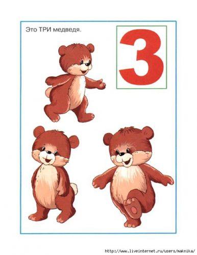 цифра 3 в картинках