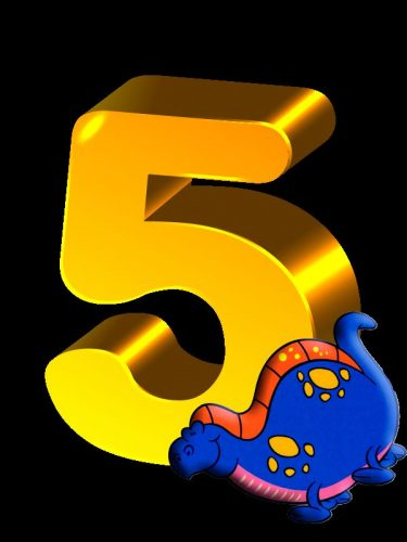 цифра 5 картинка