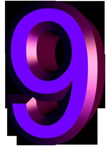 картинка цифры 9