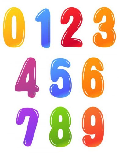 картинки цифр для детей