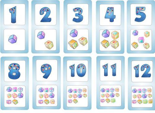 цифры картинки для детей