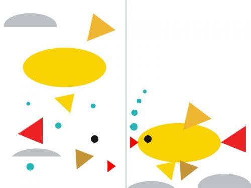 рыбка аппликация
