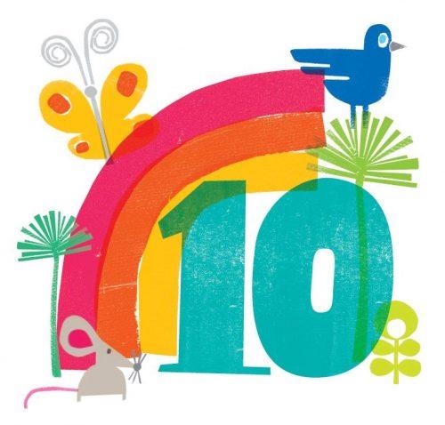 цифра 10 в картинках