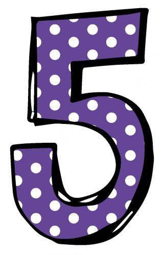 цифра пять картинка