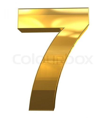 цифра семь картинка