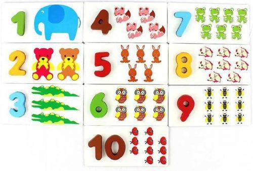 цифры в картинках для детей
