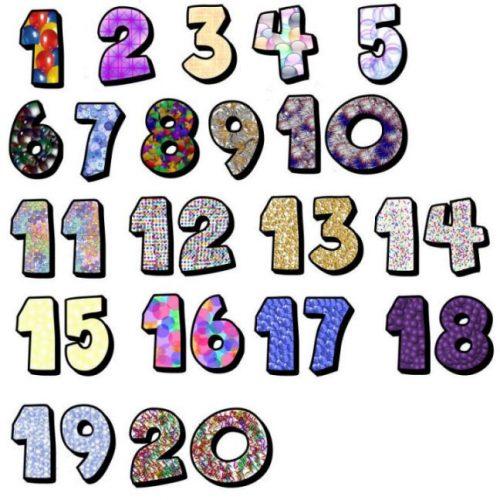 цифры в картинках фото