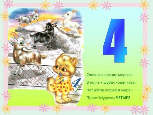 цифра 4 загадка