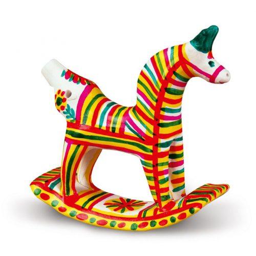 филимоновская игрушка лошадка картинки