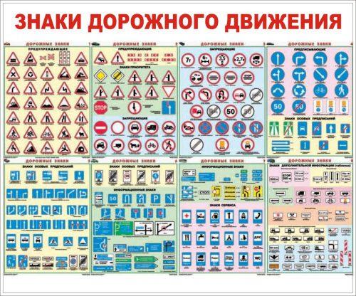 картинки дорожные знаки для дошкольников