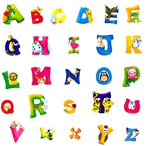 звуки английского алфавита картинки