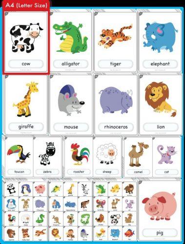 карточки животные картинки для детей