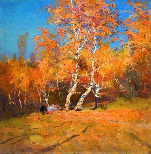 дерево осенью картинки для детей