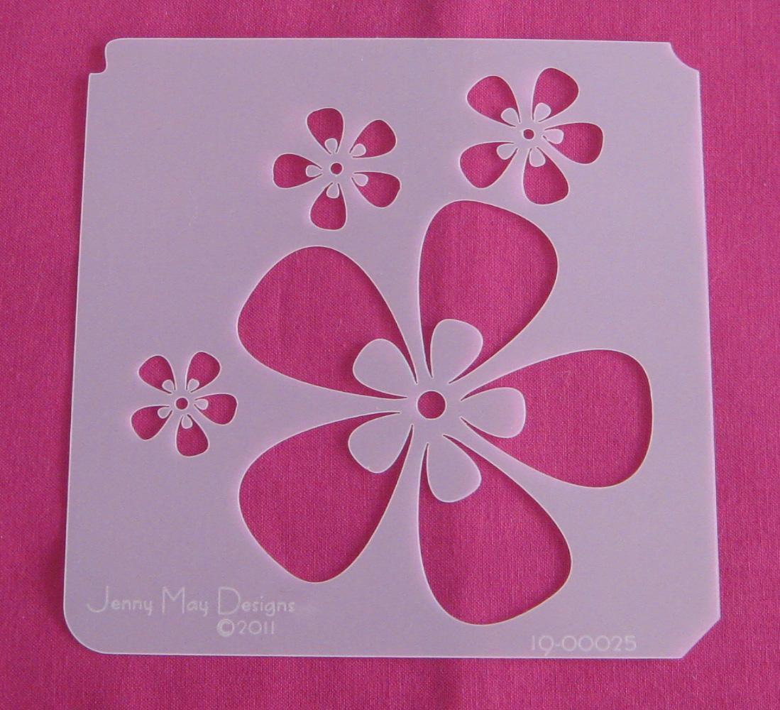 Цветок на стену  шаблоны