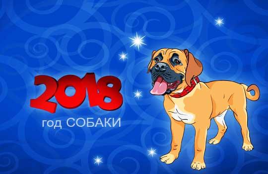 новый год собаки картинка7