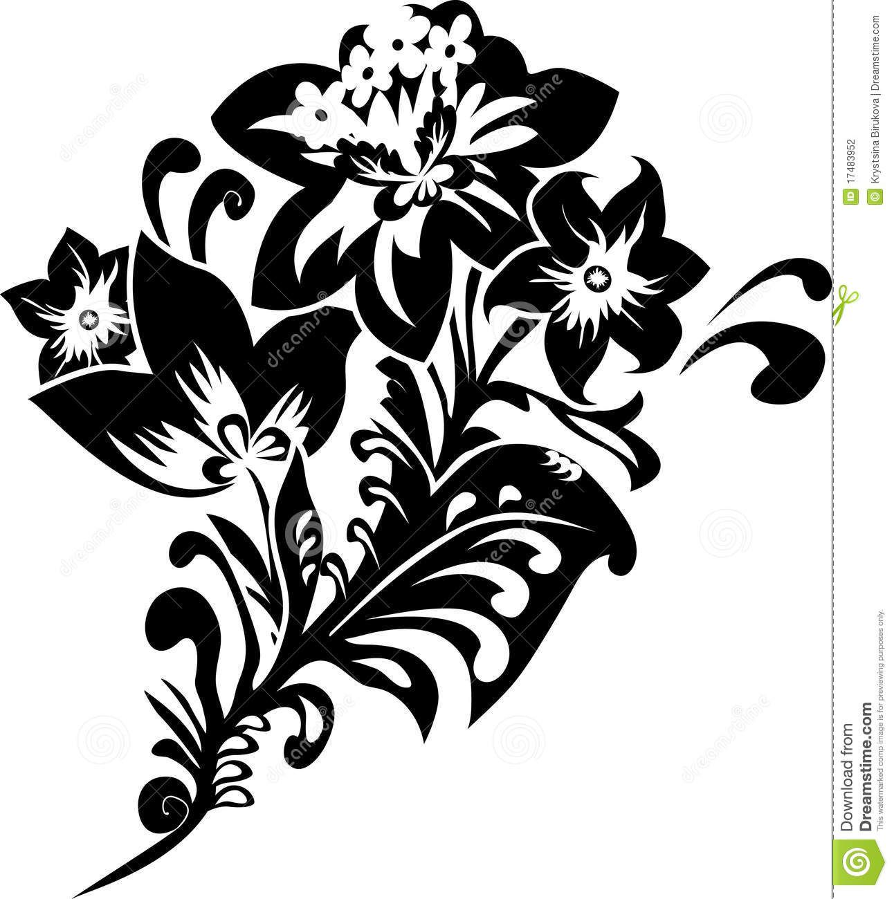 Трафареты цветов для вырезания из бумаги можно