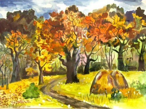 золотая осень картинки для детей