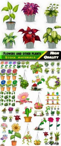 Клипарт картинки растения