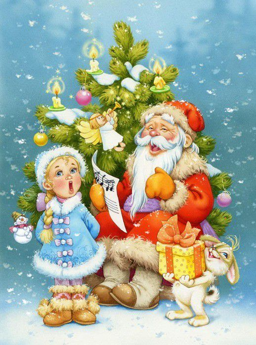 Картинки по запросу картинки детям новый год