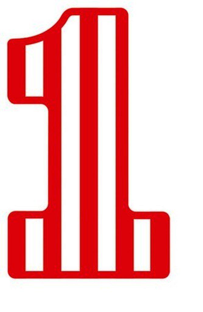 One Line Font Art : Цифра презентации загадки и стихи