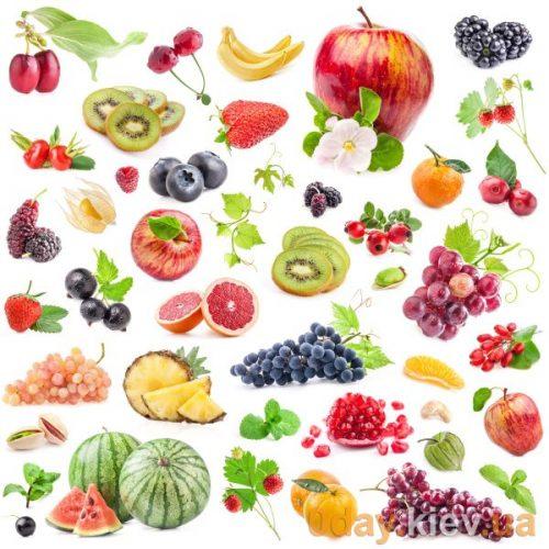 названия овощей фруктов и ягод