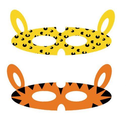 маска животных своими руками