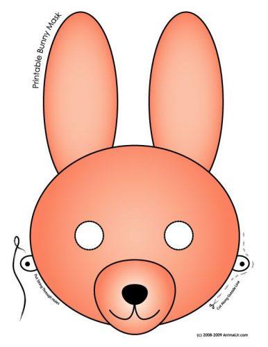 маски животных для детей