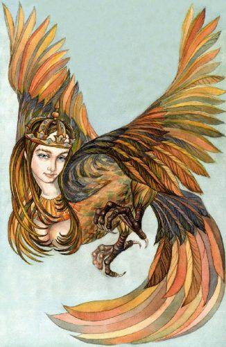 птица сирин картинки