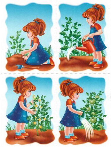 рассказ про растения