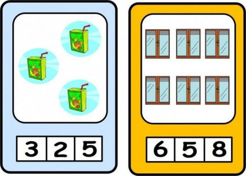 картинки где нужно выбрать цифру
